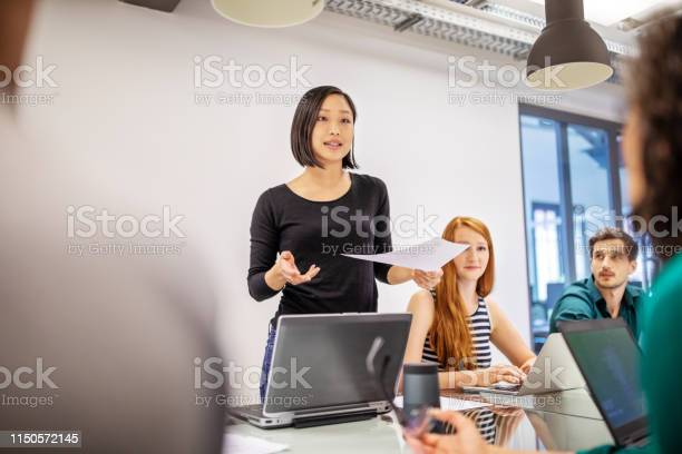 Confident female professional discussing with colleagues picture id1150572145?b=1&k=6&m=1150572145&s=612x612&h=t7tfdaxibvx1efn9z5oqkxu8unmvv4rpbevoh7ifzmg=