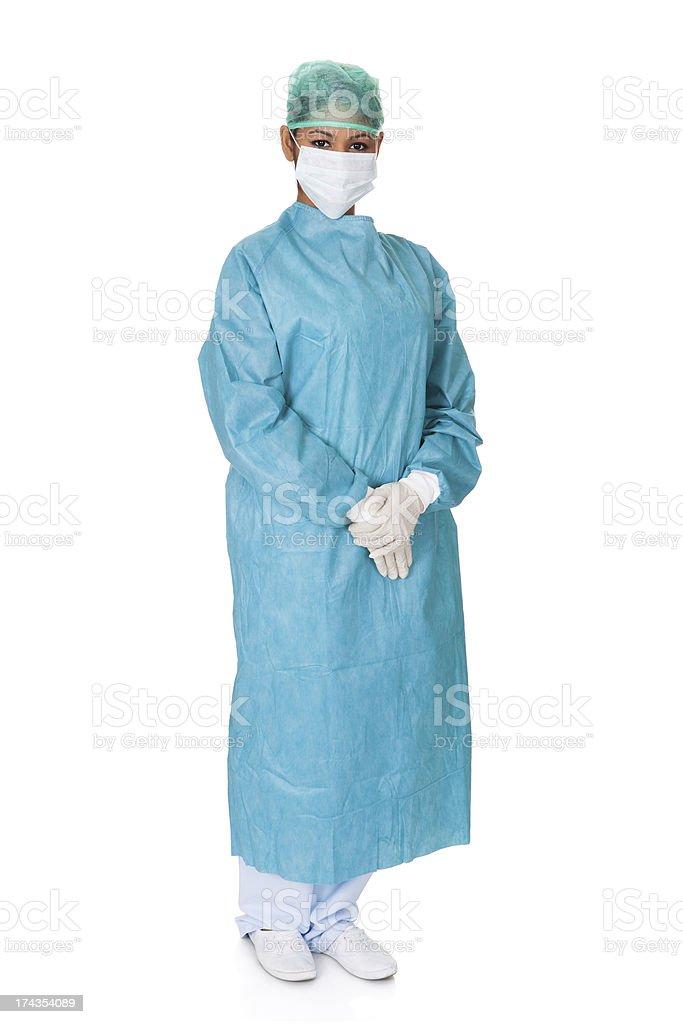 Confident Female Surgeon royalty-free stock photo