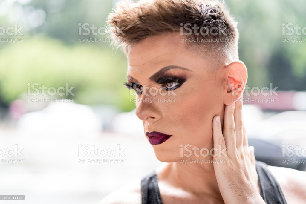 Confident Gay Boy Stock Image
