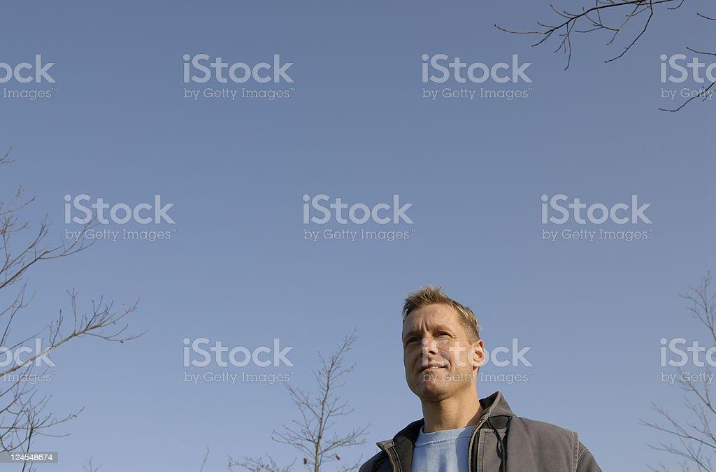 Confident Handyman royalty-free stock photo