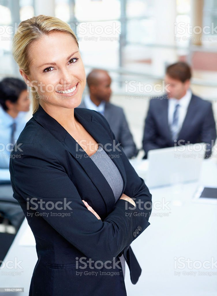 Confident I have what it takes to succeed royalty-free stock photo