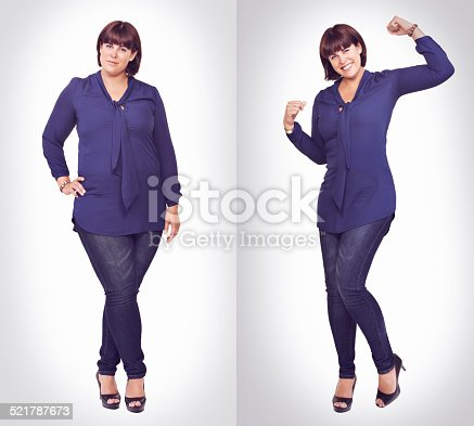 521792745 istock photo Confident in her curves 521787673