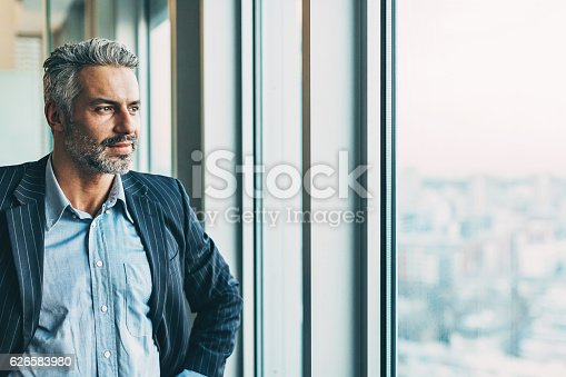 istock Confident in his success 626583980