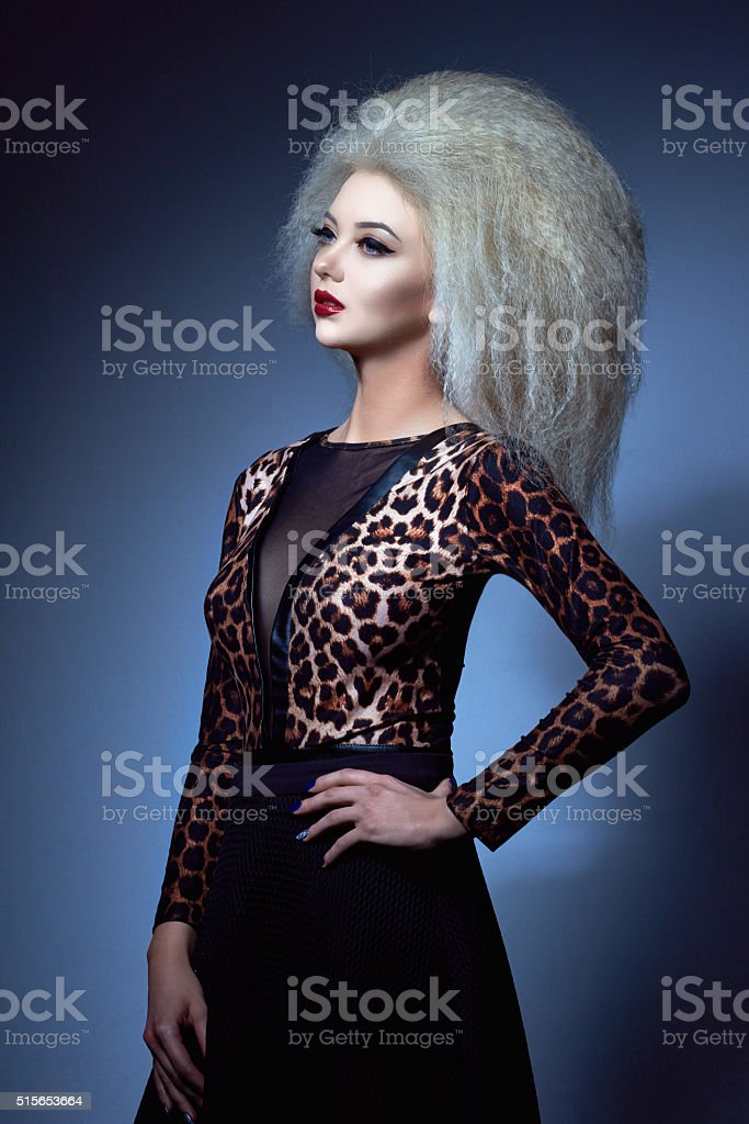 confident in my glamour attitude stock photo