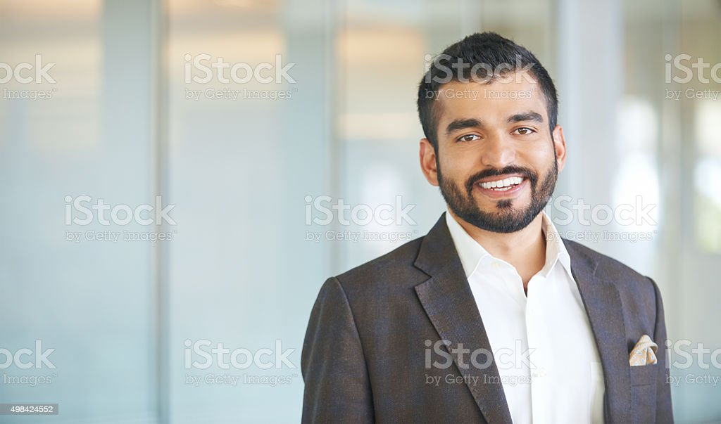 Confident in my professional abilities stock photo