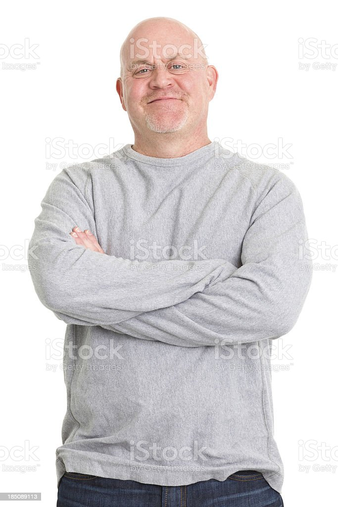 Confident Man Posing royalty-free stock photo