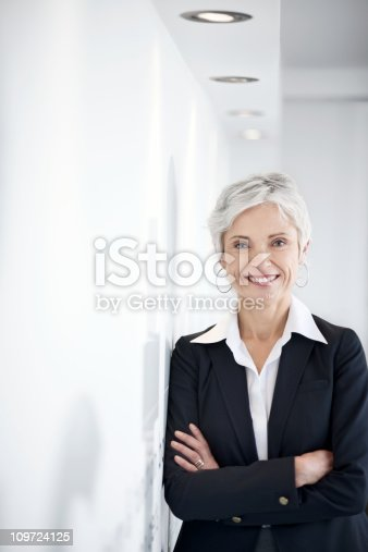istock Confident mature business woman 109724125