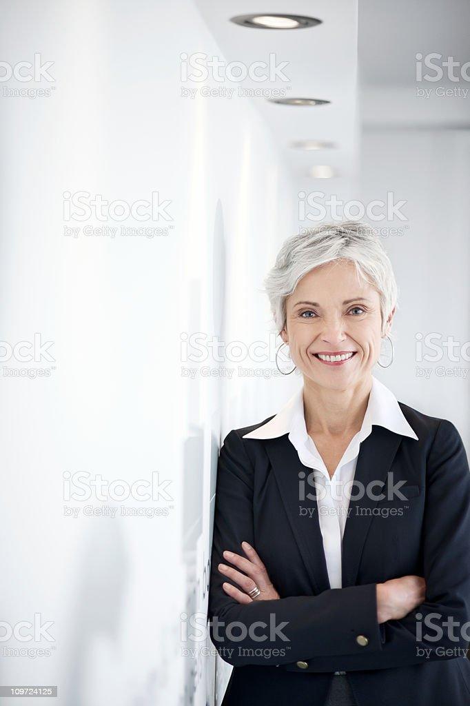 Zuversichtlich Reife Geschäftsfrau – Foto