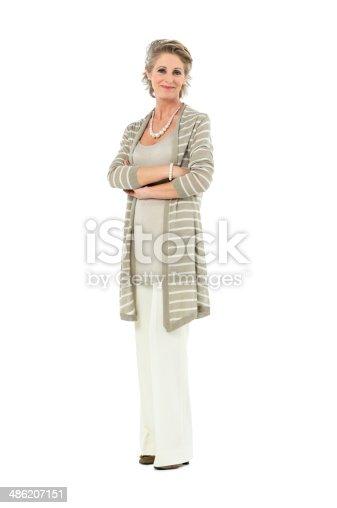 istock Confident Mature Woman 486207151
