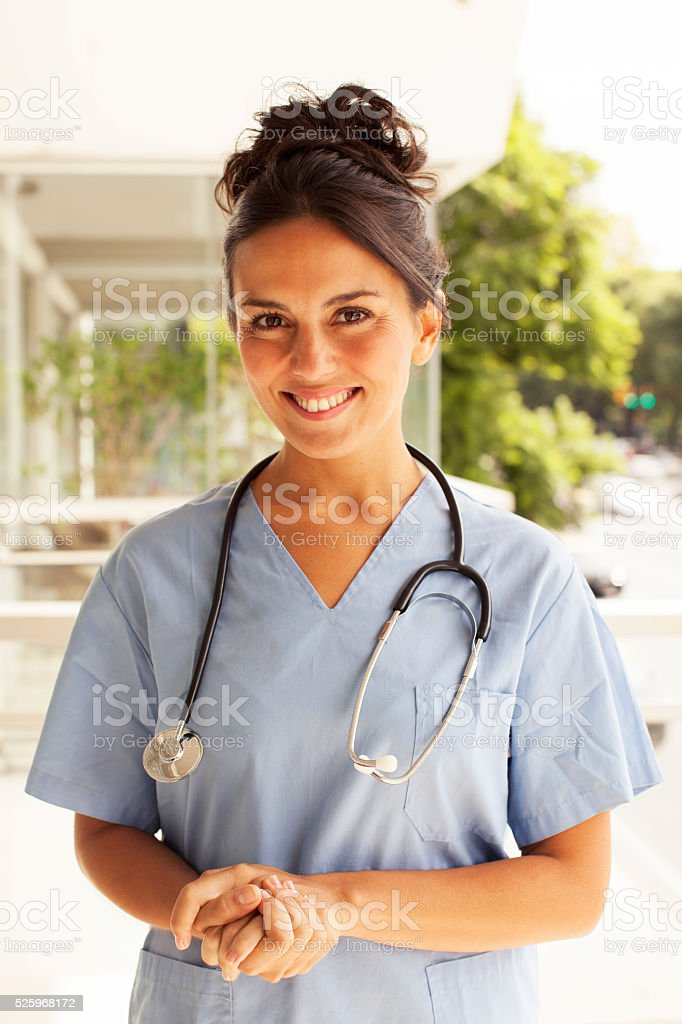 Confident Medical Doctor stock photo