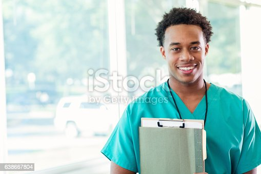 istock Confident medical student before class 638667804