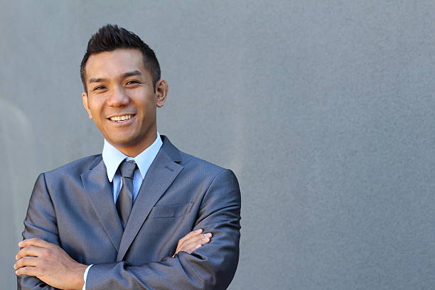 Confident modern business man Confident handsome modern business man filipino ethnicity stock pictures, royalty-free photos & images