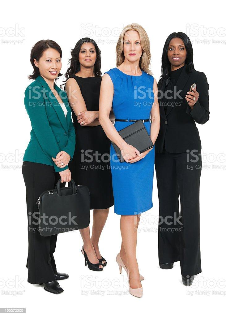 Confident Multiracial Businesswomen royalty-free stock photo