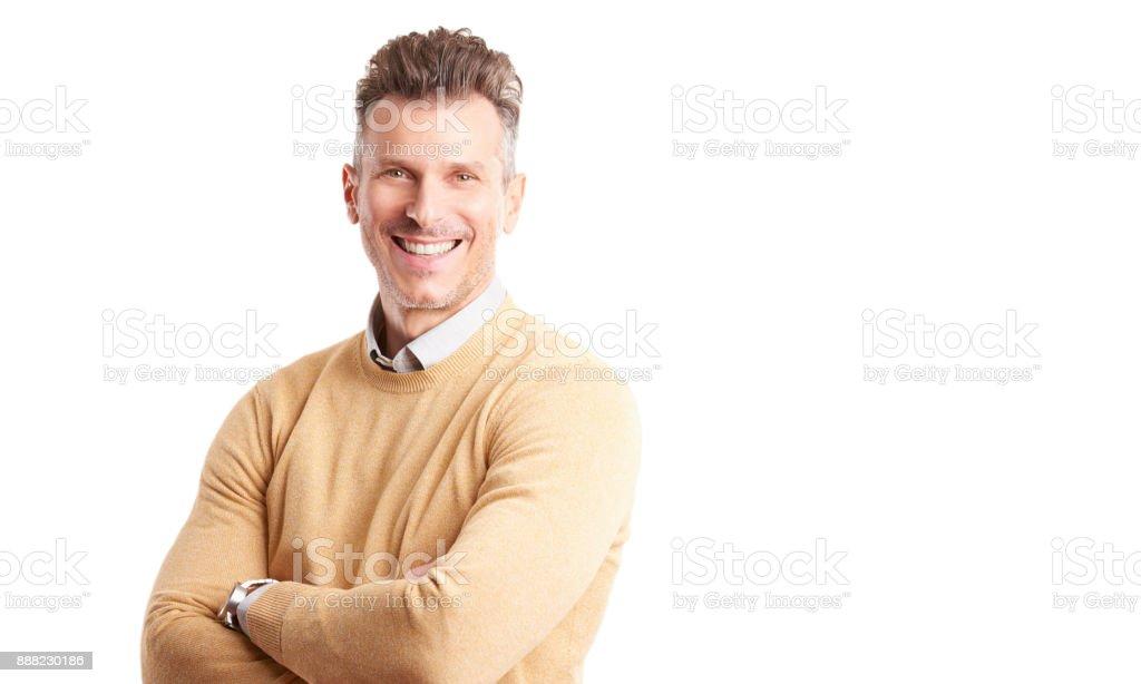 Confident professional man portrait стоковое фото