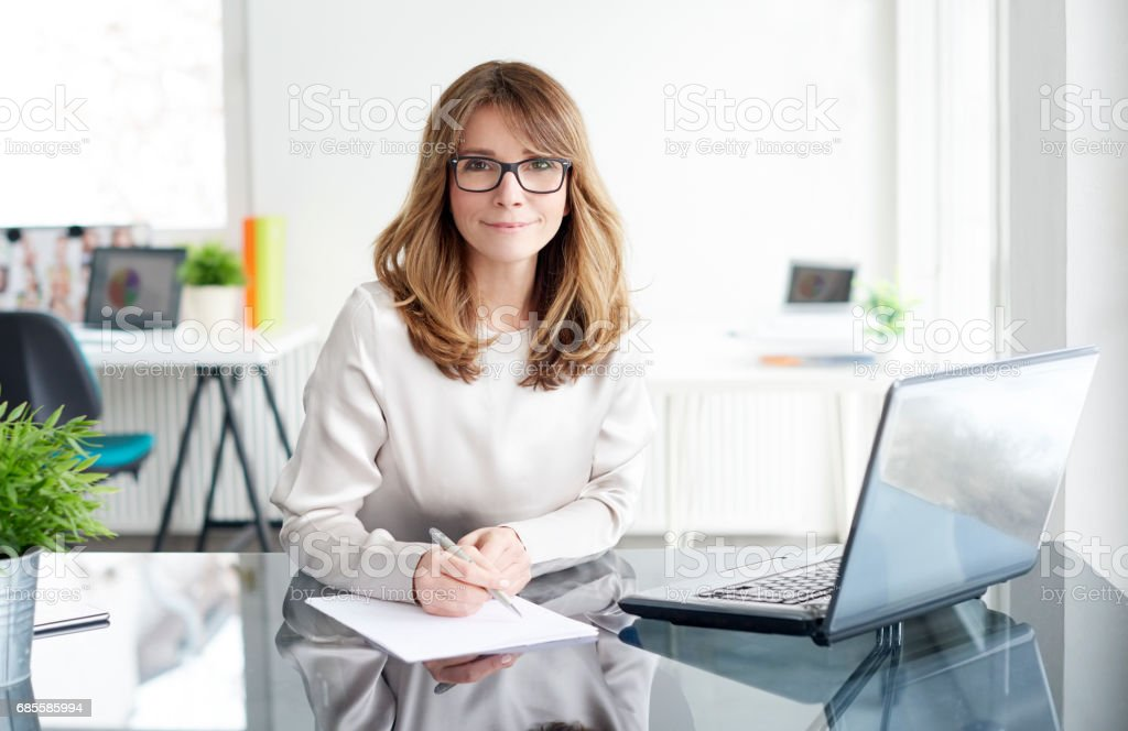 Confident professional woman royalty-free 스톡 사진