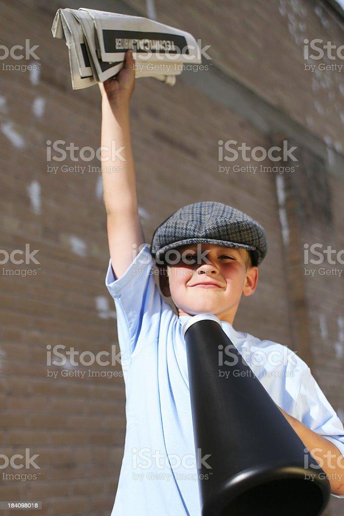Confident Salesboy royalty-free stock photo