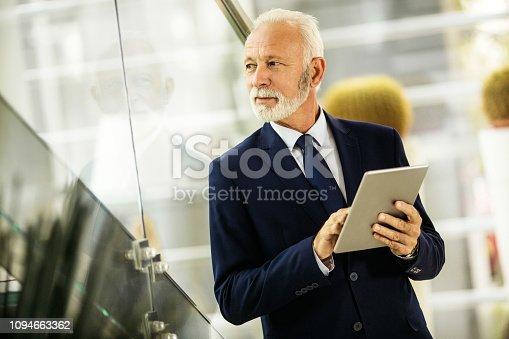 891418990 istock photo Confident senior businessman 1094663362