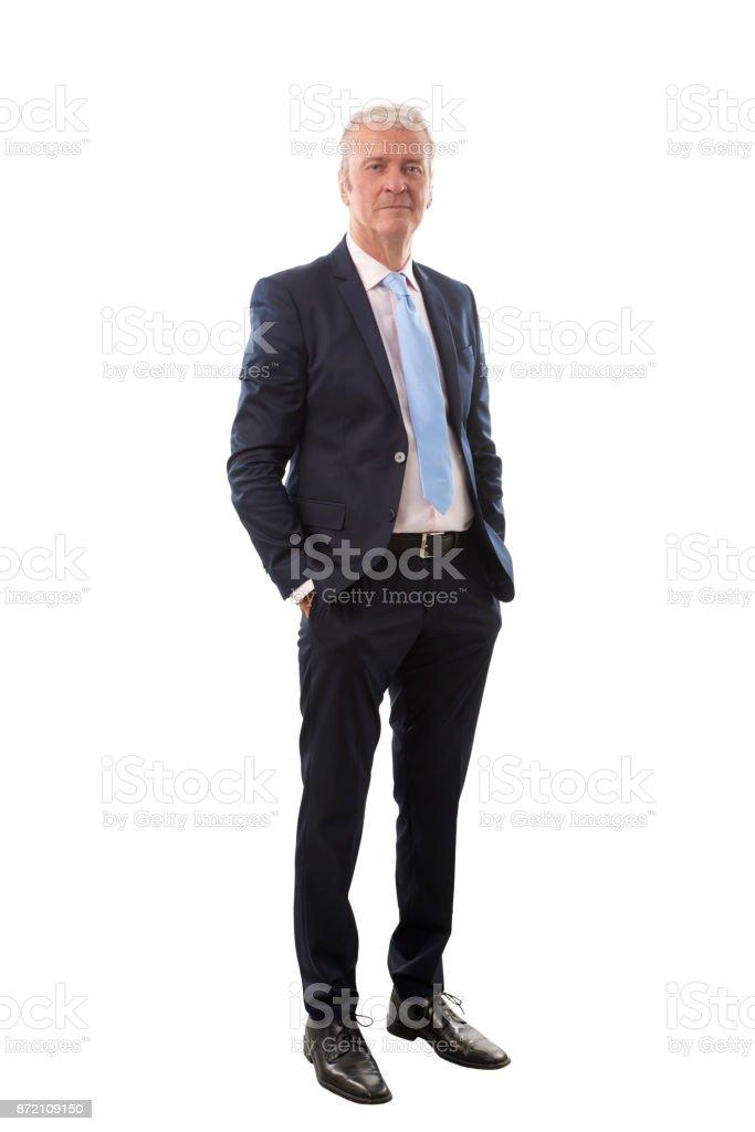 Confident senior businessman стоковое фото