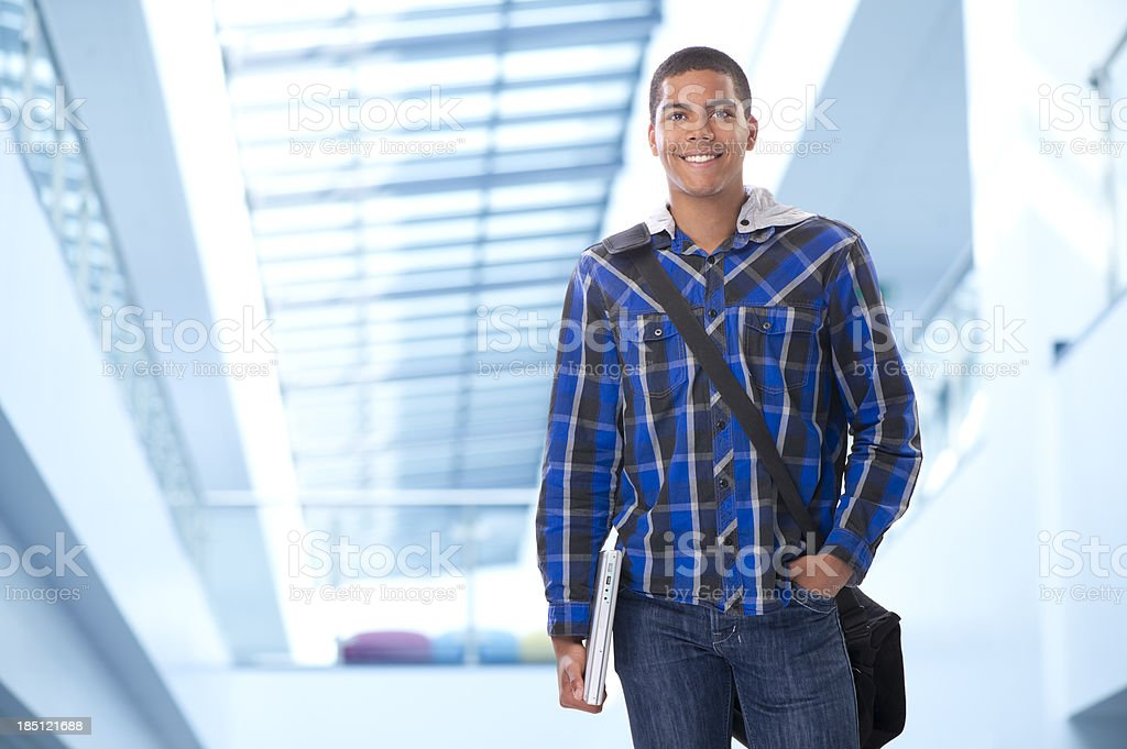 confident student stock photo