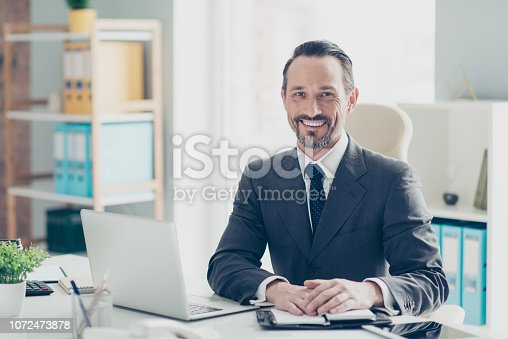 istock Confident success handsome good-wearing style stylish man in chi 1072473878