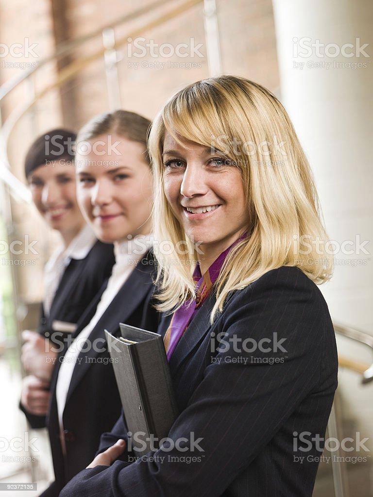 Confident team royalty-free stock photo