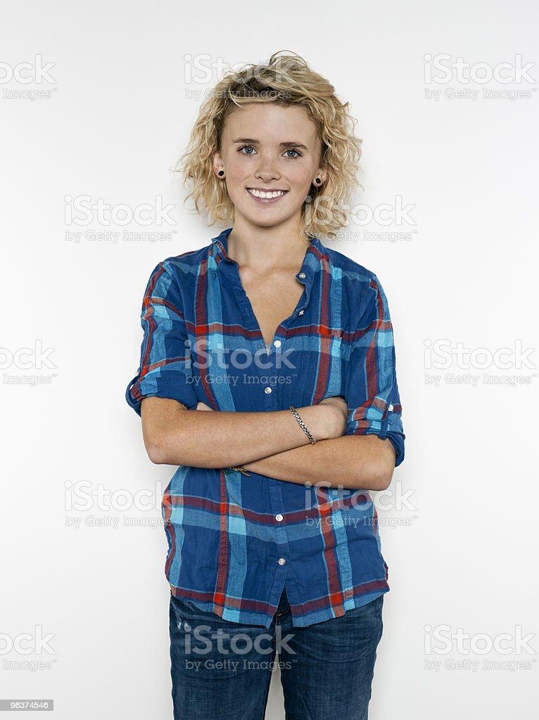 Confident Teenage Girl royalty-free stock photo