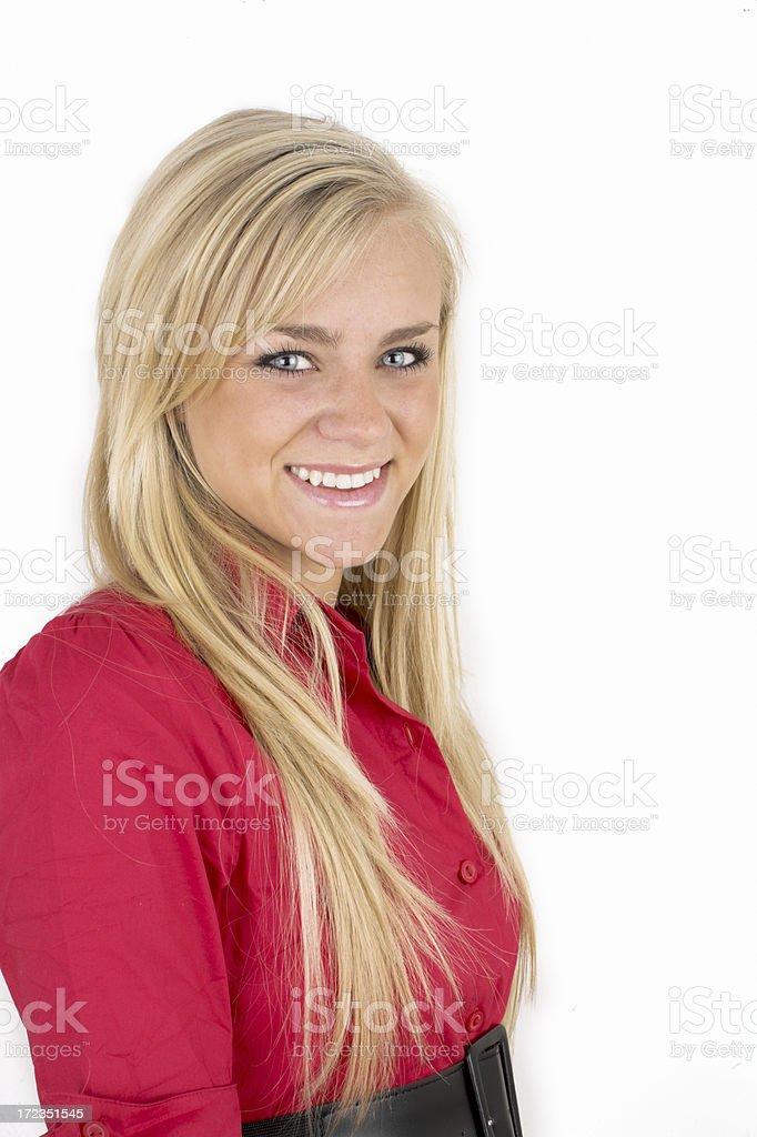 Seguros de adolescente foto de stock libre de derechos