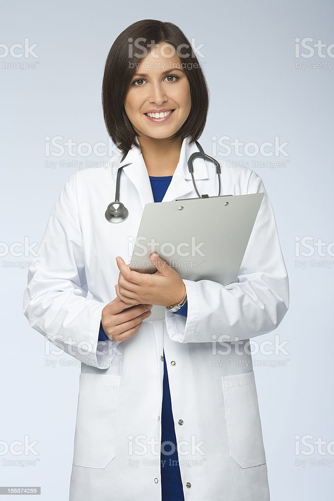 Confident Woman Doctor royalty-free stock photo