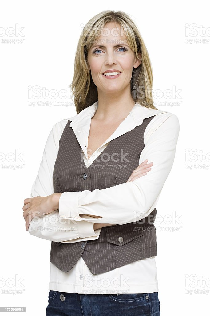 Confident Woman royalty-free stock photo