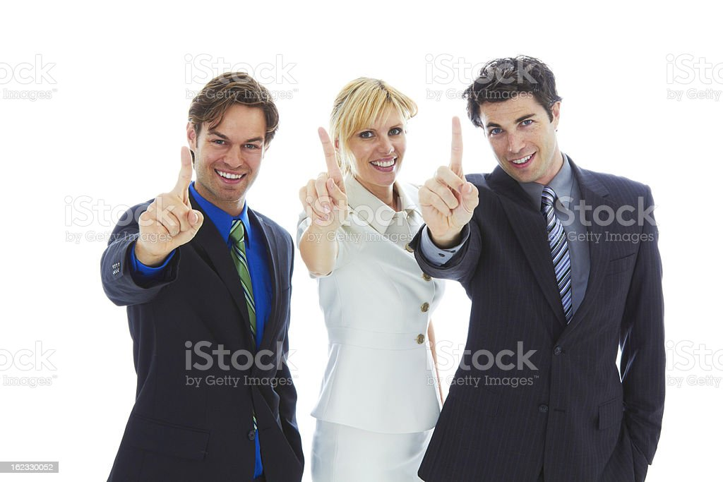 Confident Young Business Team royalty-free stock photo