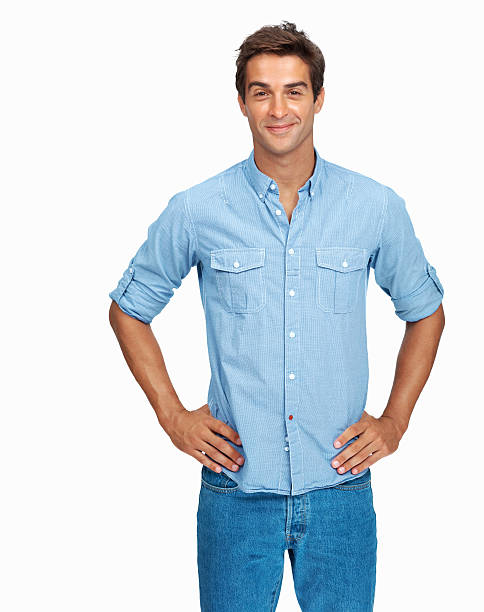 Confident young man Portrait of handsome young man in casual clothes with his hands on his hips akimbo stock pictures, royalty-free photos & images