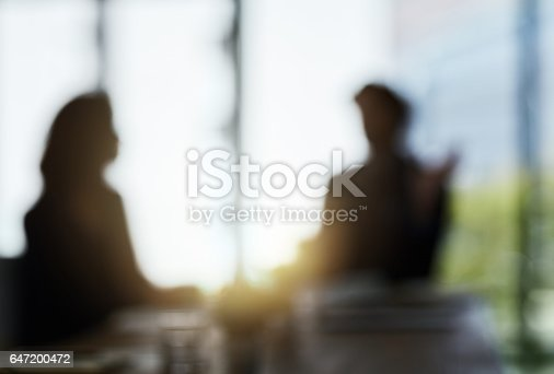 istock Confidential discussions in the boardroom 647200472