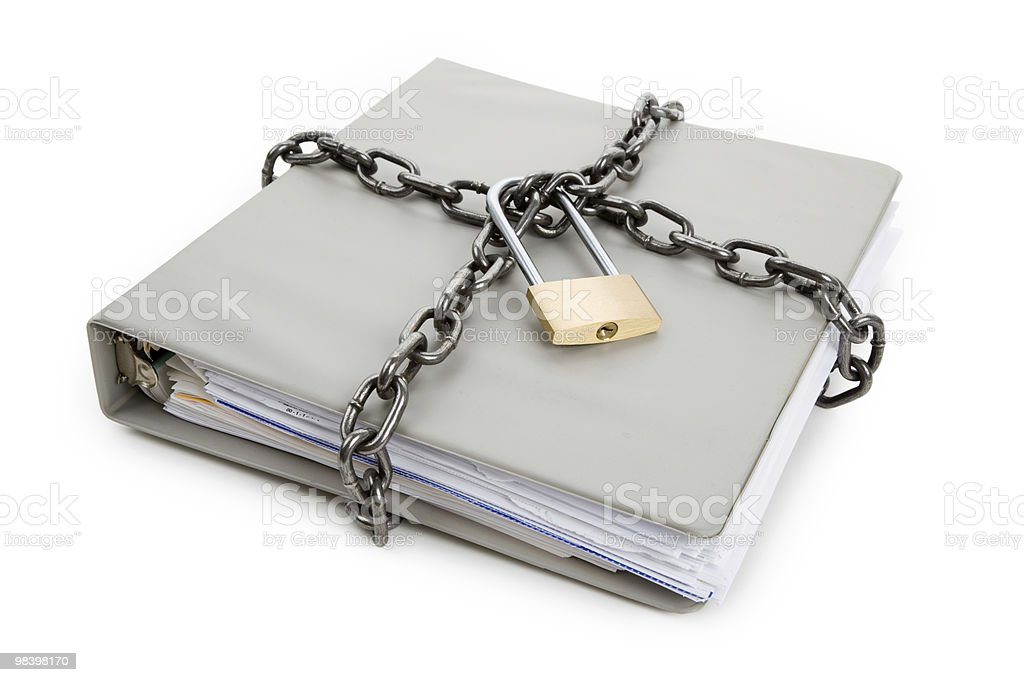 Confidential Document royalty-free stock photo