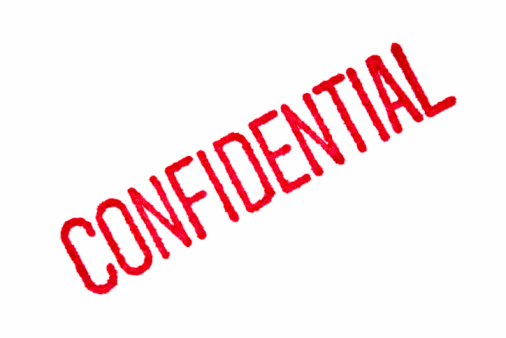 Confidential Stock Photo - Download Image Now