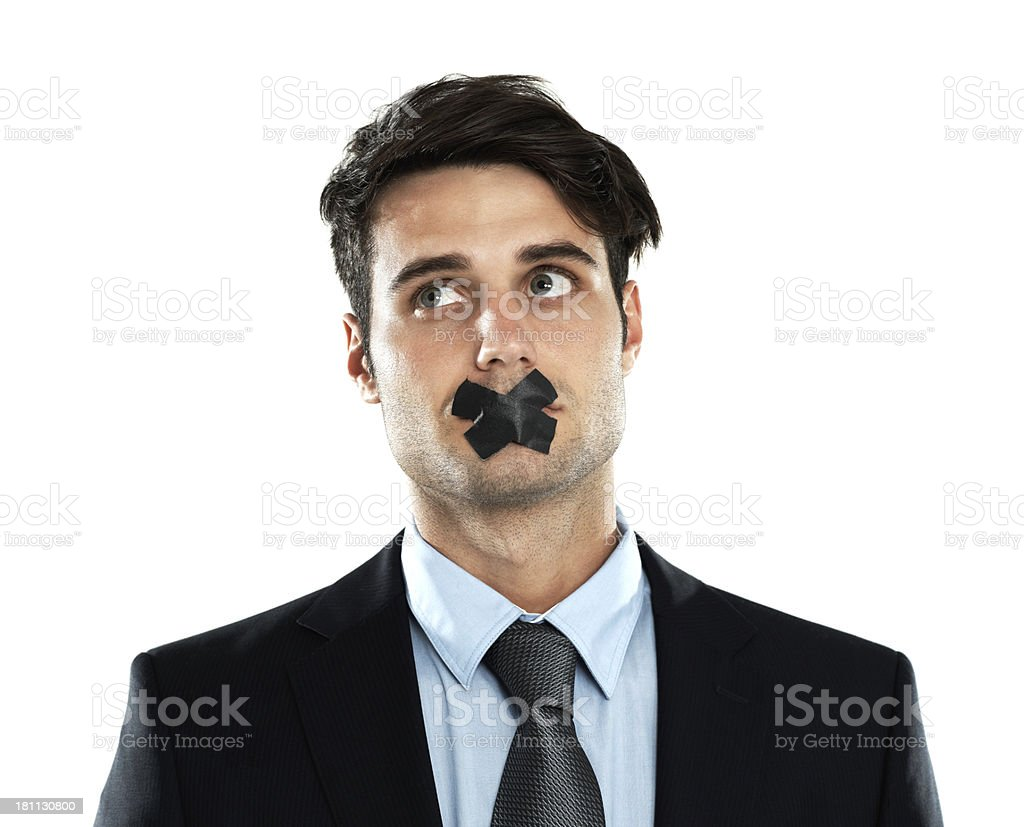 Confidentiality - Business practices royalty-free stock photo