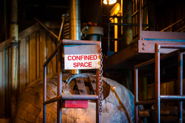 Confined space. Confined space work area. confined space stock pictures, royalty-free photos & images