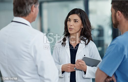 944493796 istock photo Confirming a diagnosis requires effective collaboration 1248714768