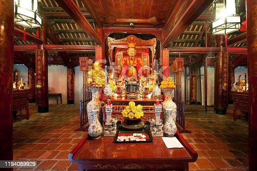 939399010 istock photo Confucius shrine, Temple of Literature, Hanoi city centre, North Vietnam 1194089929