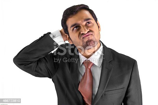 istock Confused and making a face! 466723810