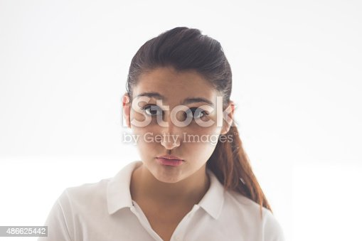 istock Confused and puzzled teenager after exam 486625442