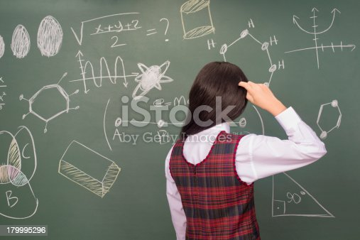 istock Confused Little Girl 179995296