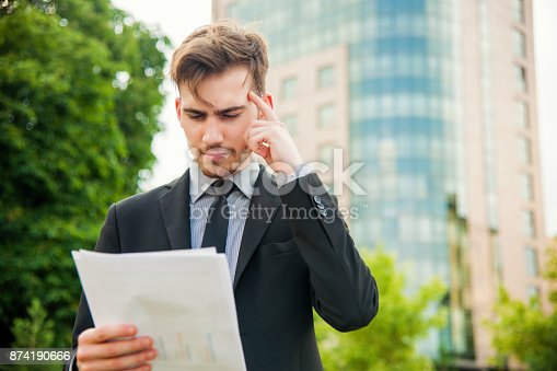 istock Confused manager 874190666