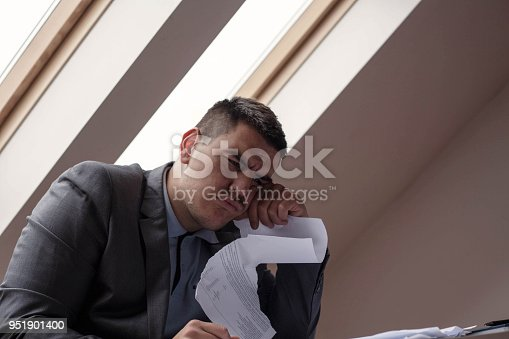 istock Confused manager . 951901400