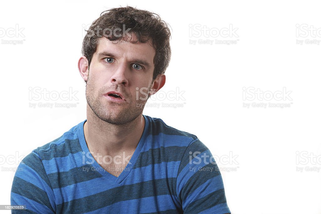 Confused stock photo