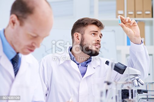 istock Confused scientist 502935109