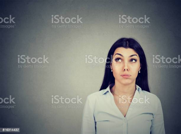 Confused thoughtful young woman making up her mind picture id816314432?b=1&k=6&m=816314432&s=612x612&h=vug9bz3qv8xcaajokjht8spa1lze4rwfyd7dtlzl5kc=
