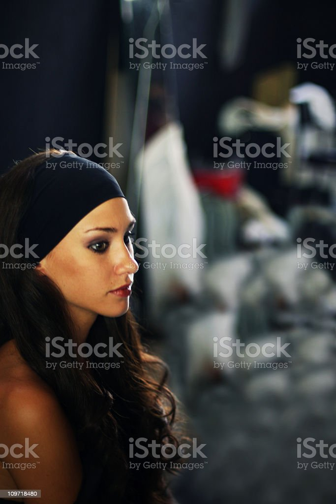 Confusion royalty-free stock photo