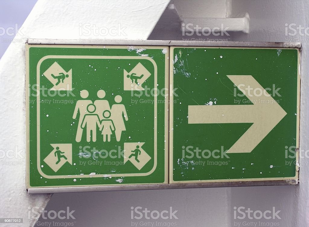 Confusion Sign royalty-free stock photo