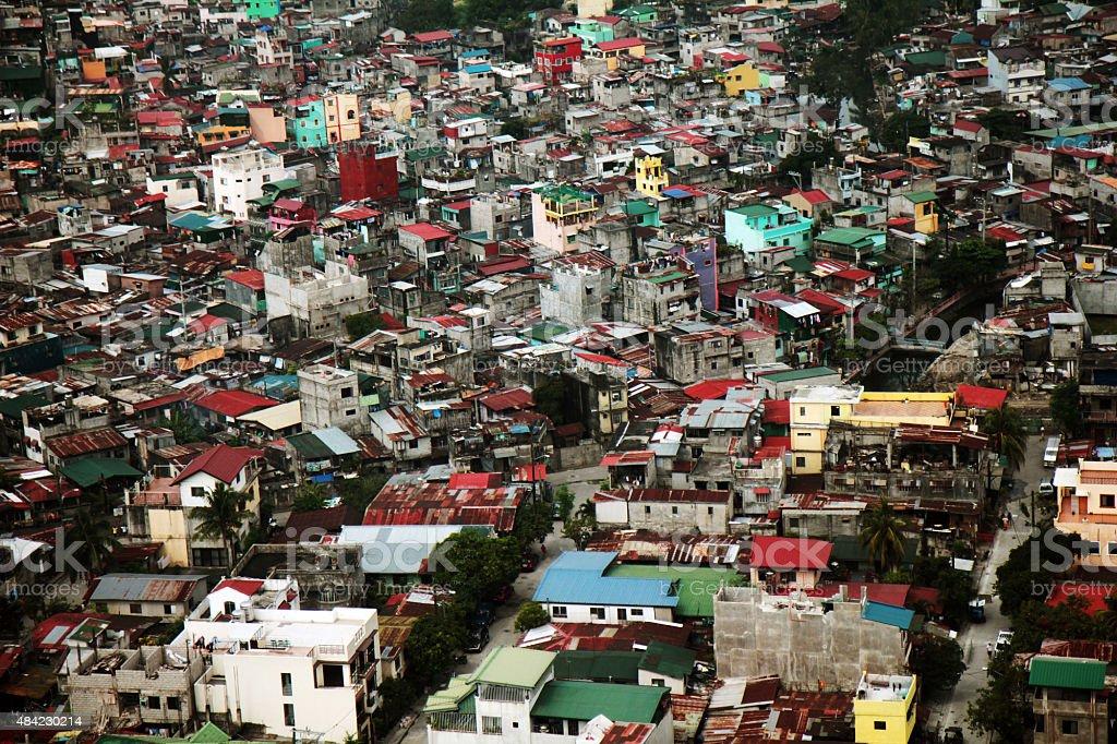 Asphyxiées Slums Manille - Photo