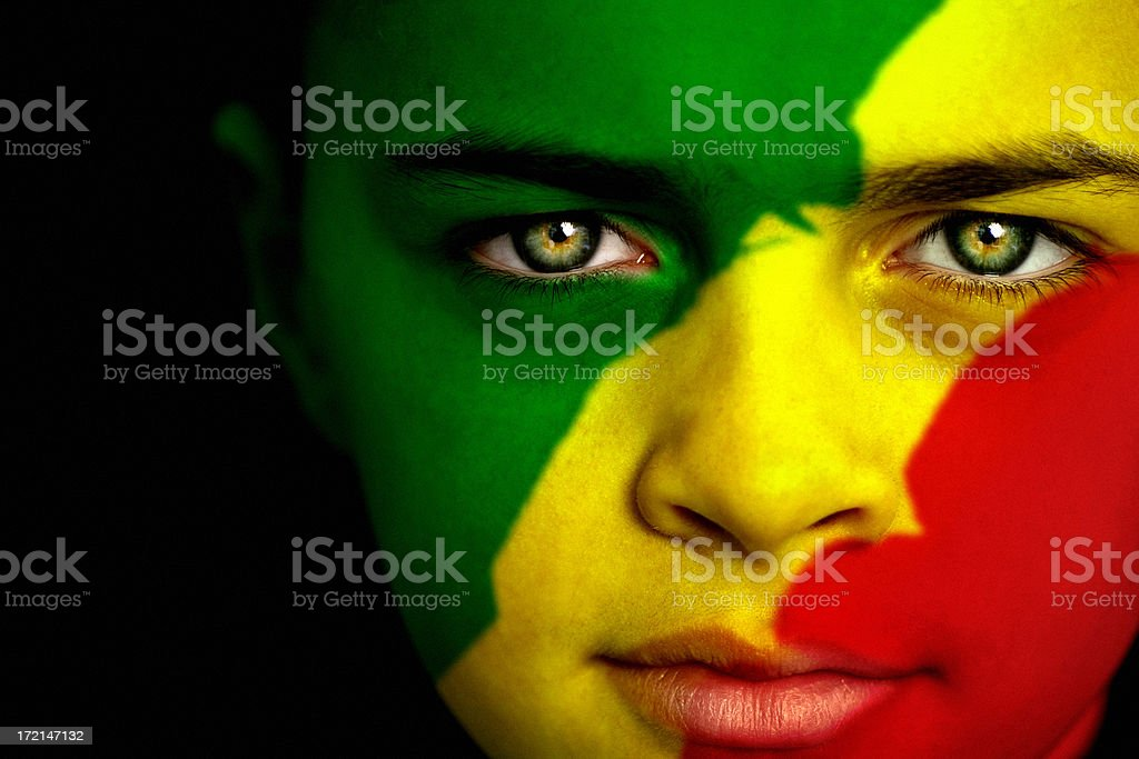 Congo boy stock photo